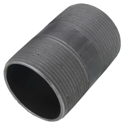 """2-1/2"""" x 4"""" Black Nipple Product Image"""