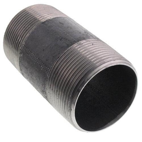 """2-1/2"""" x 5"""" Black Nipple Product Image"""