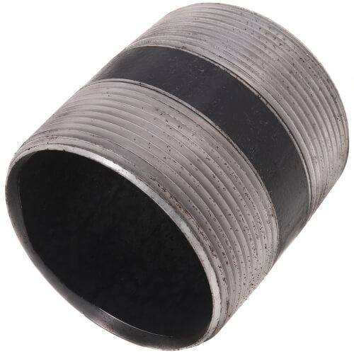 """3"""" x 3-1/2"""" Black Nipple Product Image"""