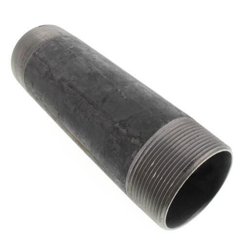 """3"""" x 10-1/2"""" Black Nipple Product Image"""