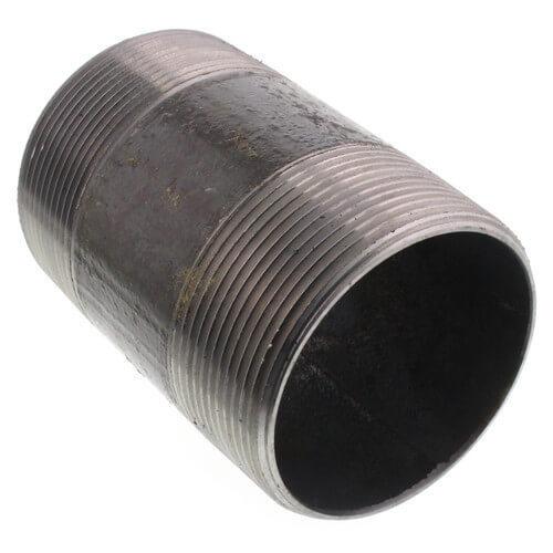 """4"""" x 6"""" Black Nipple Product Image"""