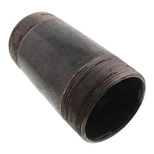 """4"""" x 8-1/2"""" Black Nipple Product Image"""