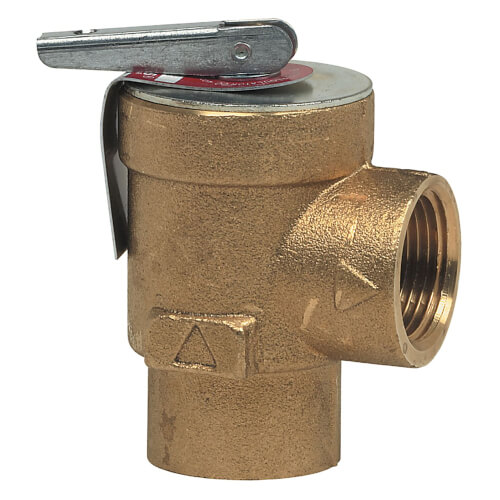 """354A-030 3/4"""" NPT Hot Water Boiler Pressure Relief Valve (30 PSI) Product Image"""