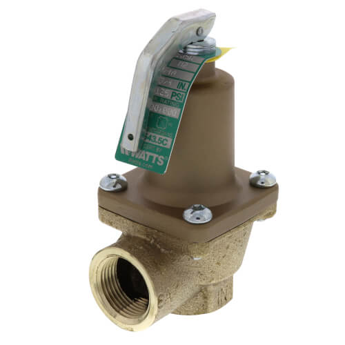 """3/4"""" 474A Pressure Relief Valve (125 psi) Product Image"""
