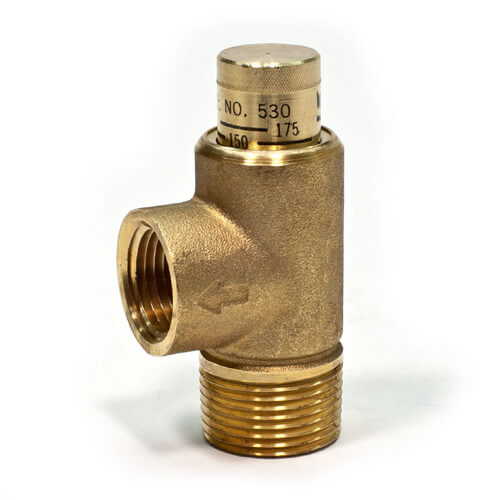 """3/4"""" 530C Poppet Style Relief Valve Product Image"""