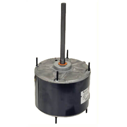 "5.5"" Vertical Outdoor Condenser Fan Motor, Shaft-Up/Down (1/3 HP, 208-230V, 1075 RPM) Product Image"