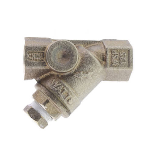 """3/8"""" LF777SI Lead Free Bronze Wye Strainer (Threaded) Product Image"""