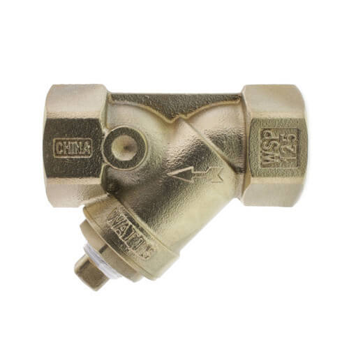 """1-1/4"""" LF777SI Lead Free Brass Wye Strainer (Threaded) Product Image"""