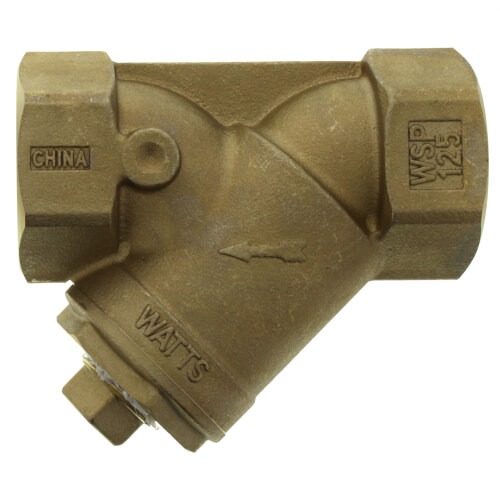 """2"""" LF777SI Lead Free Brass Wye Strainer (Threaded) Product Image"""