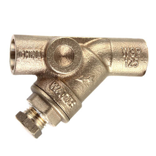 "1/2"" LFS777SI Lead Free Brass Wye Strainer (Solder) Product Image"
