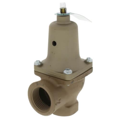 "3/4"" x 1"" Boiler Pressure Relief Valve (50 psi) Product Image"
