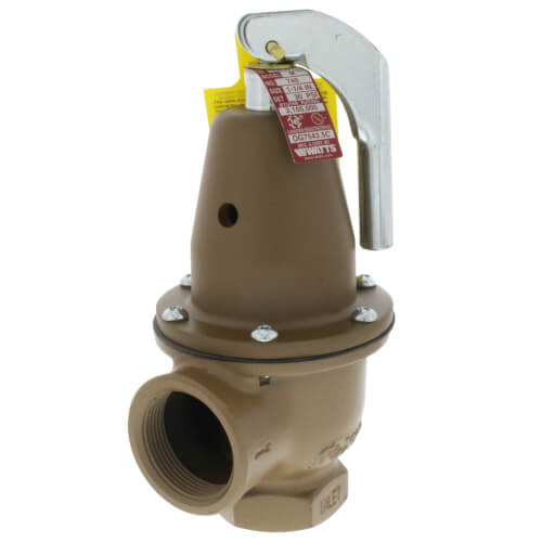 "1-1/4"" x 1-1/2"" Boiler Pressure Relief Valve (40 psi) Product Image"
