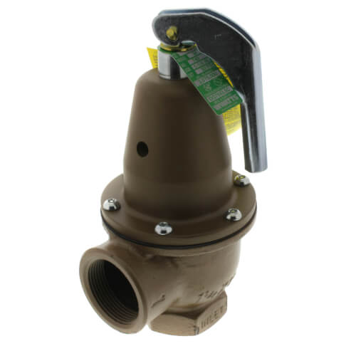 "1-1/4"" x 1-1/2"" Boiler Pressure Relief Valve (50 psi) Product Image"