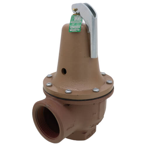 "2"" x 2-1/2"" Boiler Pressure Relief Valve (50 psi) Product Image"