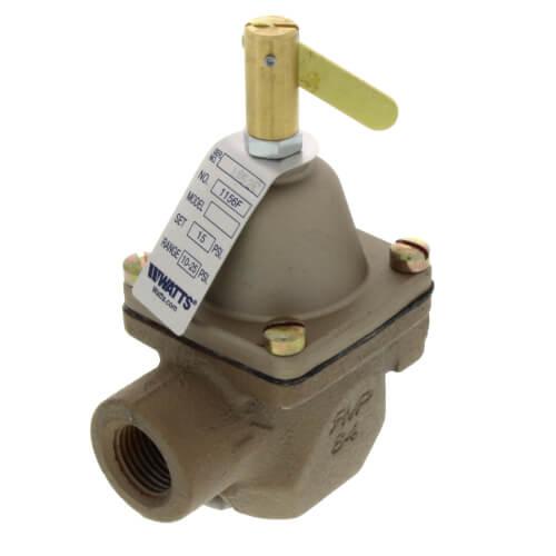 "1156F 1/2"" Threaded Iron Pressure Regulator Product Image"