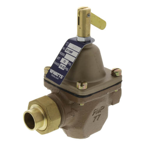 "S1156F 1/2"" Union Solder Iron Pressure Regulator Product Image"