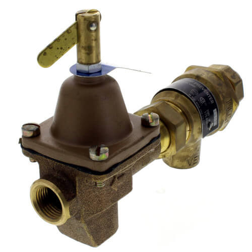 "B911S, 1/2"" Bronze Combination Fill Valve & Backflow Preventer (Sweat x NPT) Product Image"