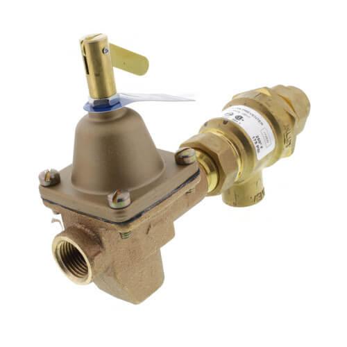 "B911, 1/2"" Bronze Combination Fill Valve & Backflow Preventer (NPT x NPT) Product Image"
