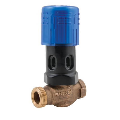 "BD1156F 1/2"" Copper Press Bronze Dial Set Feed Water Pressure Regulator Product Image"