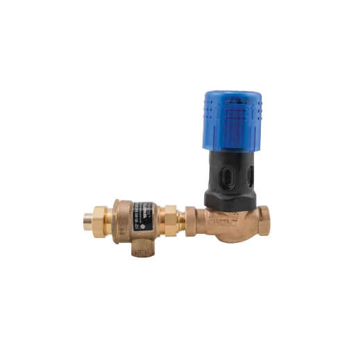 "BD911, 1/2"" Combination Bronze Dial Set Fill Valve & Backflow Preventer (Sweat x NPT) Product Image"