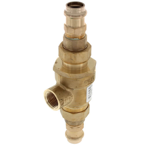 "1/2"" 9D-M3 Dual Check Valve w/ Intermediate Atmospheric Vent (Copper Press) Product Image"