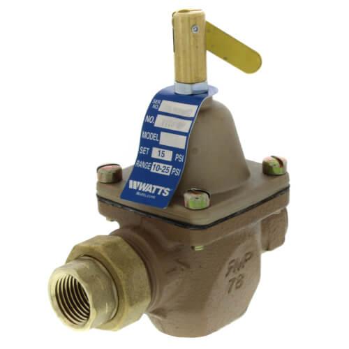"T1156F 1/2"" Union Threaded Iron Pressure Regulator Product Image"