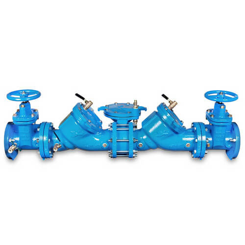 "4"" LF909-NRS Lead Free Cast Iron RPZ Assembly Product Image"