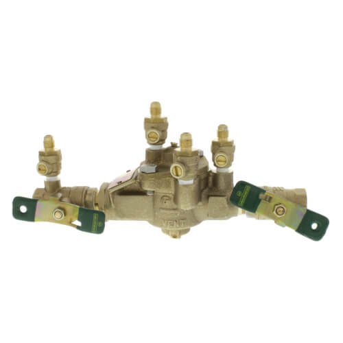 "1"" Lead Free Bronze RPZ w/ Press Connections (LF009M2QT) Product Image"