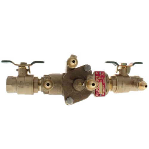 "3/4"" Bronze RPZ (LF009M3QT) (Lead Free) Product Image"