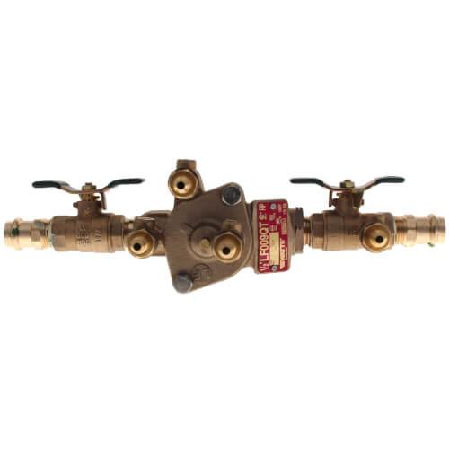 "1/2"" Lead Free Bronze RPZ w/ Press Connections (LF009QT) Product Image"