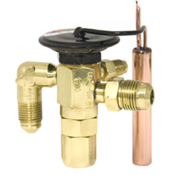 """3/8"""" x 1/2"""" SAE C-A-JW Thermal Expansion Valve (1/2 to 1 Ton) Product Image"""