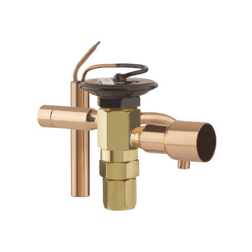 "3/8"" x 1/2"" ODF ECE-A-VX100 Thermal Expansion Valve (3/4 to 1-1/2 Ton) Product Image"