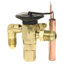"""3/8"""" x 1/2"""" SAE C-B-JW Thermal Expansion Valve (1 to 2 Tons) Product Image"""