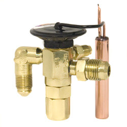 """3/8"""" x 1/2"""" SAE CE-D-JX60 Thermal Expansion Valve (3 to 5 Tons) Product Image"""