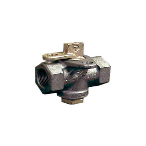 "2"" AY McDonald Lockwing Gas Cock (175 PSI) Product Image"