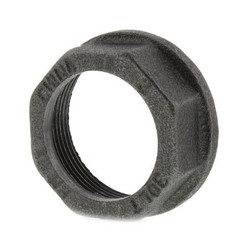 "1-1/4"" Black Gas Meter Nut Product Image"