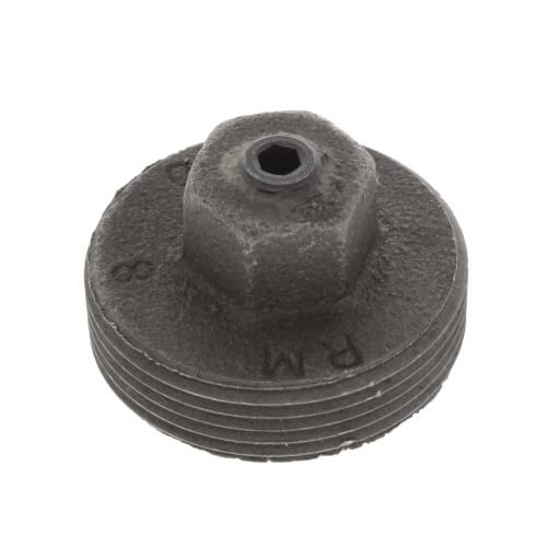 """1"""" Meter Plug with 1/8"""" Tap Product Image"""