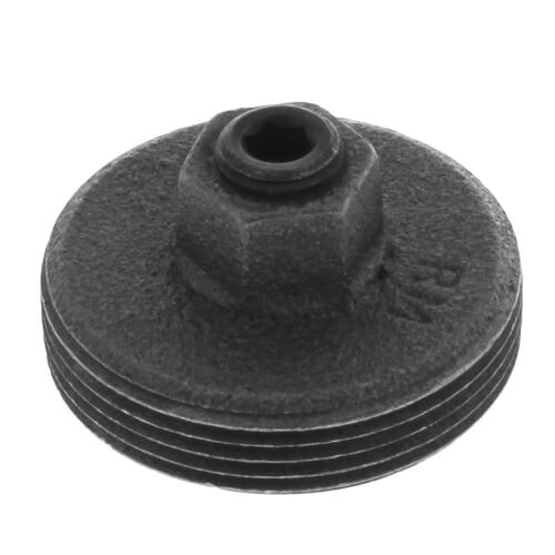 "1-1/4"" Meter Plug with 1/4"" Tap Product Image"