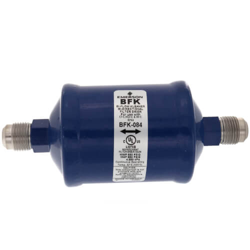 "1/2"" SAE BFK-Series Liquid line Bi-Directional Filter Drier (8 Cubic Inches) Product Image"