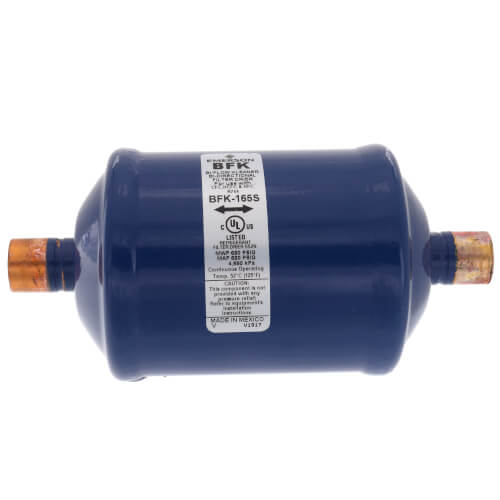 """5/8"""" ODF BFK-Series Liquid Line Bi-Directional Filter Drier (16 Cubic Inches) Product Image"""