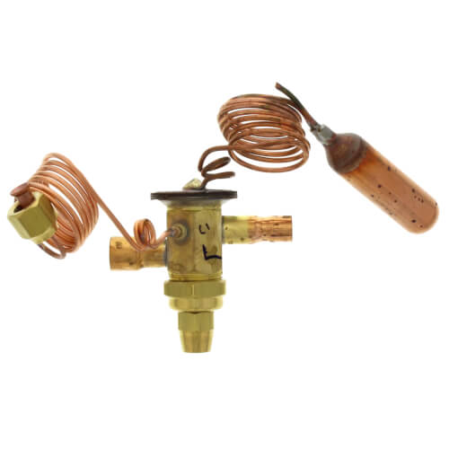 """3/8"""" x 1/2"""" ODF HCAE-3-ZX200 Thermal Expansion Valve (1-1/2 to 3 Tons) Product Image"""
