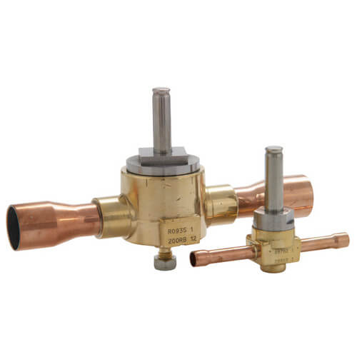"3/8"" ODF 200RB2T3 2-Way Pilot-Operated Mounting Stud Valve Product Image"