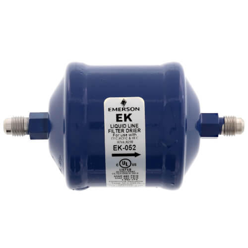 "1/4"" SAE EK-Series Liquid line Filter Drier EK-052 (5 Cubic Inches) Product Image"