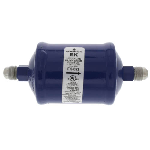 "3/8"" SAE EK-Series Liquid line Filter Drier (8 Cubic Inches) Product Image"