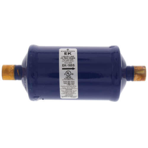 """1/2"""" ODF EK08-Series Liquid line Filter Drier (8 Cubic Inches) Product Image"""