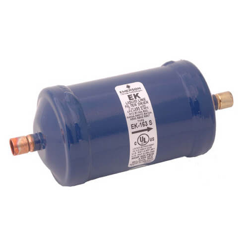 """1/4"""" ODF EK162S-Series Liquid line Filter Drier (16 Cubic Inches) Product Image"""