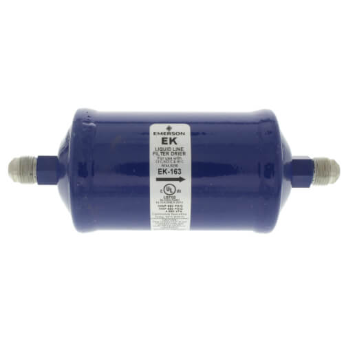 """3/8"""" SAE EK16-Series Liquid line Filter Drier (16 Cubic Inches) Product Image"""