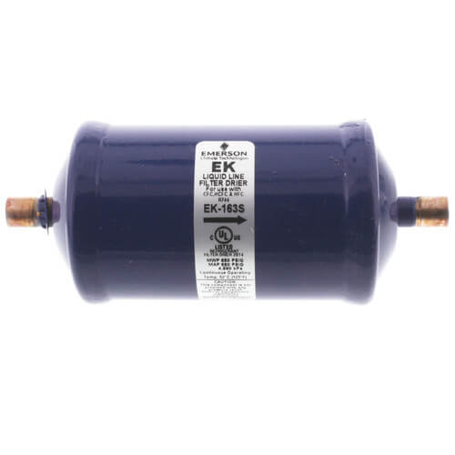 """3/8"""" ODF EK16-Series Liquid line Filter Drier (16 Cubic Inches) Product Image"""