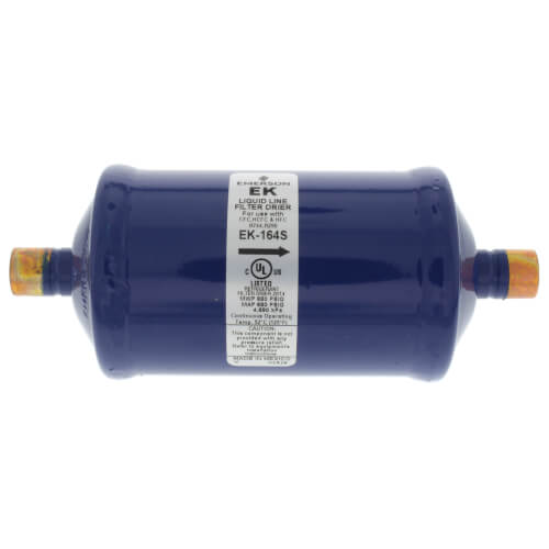 "1/2"" ODF EK16-Series Liquid line Filter Drier (16 Cubic Inches) Product Image"