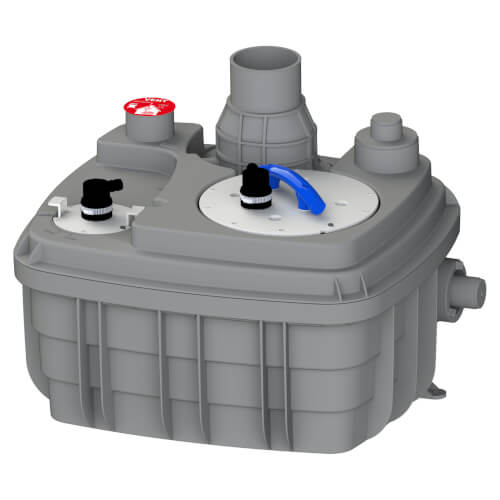 Sanicubic 1 VX Heavy Duty Simplex Vortex System (Grey) Product Image